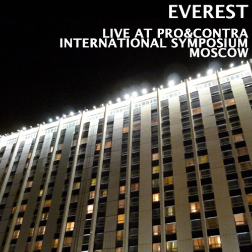 Everest - Live At PRO&CONTRA International Symposium Moscow