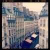 Rue De Buci from room window