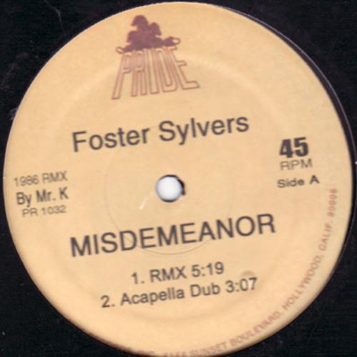 supagenius misdemeanor remix fet. foster sylvers