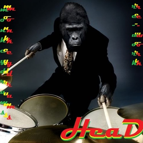 HEAD - MONKEY DRUMS  re-work