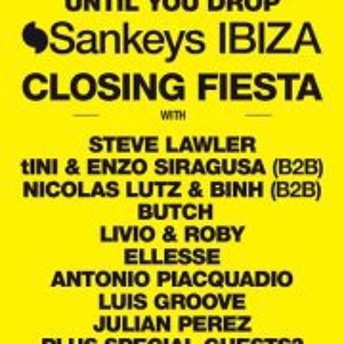 Luis Groove @ Sankeys Ibiza Closing Fiesta 2011
