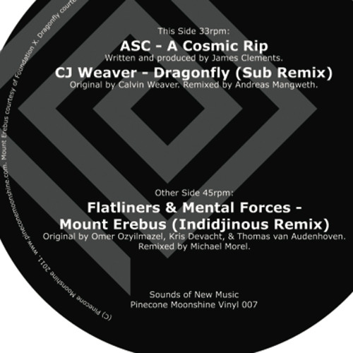CJ Weaver - Dragonfly (Sub Remix) // Vinyl out now!