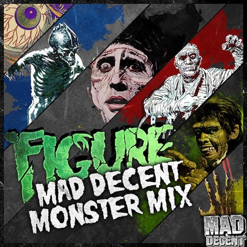 MDWWR #71 FIGURE - MAD DECENT MONSTER MIX
