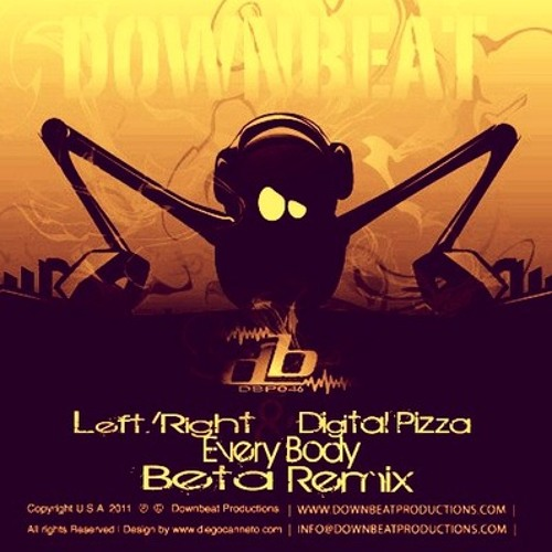 [OUT NOW] Every Body (Beta Remix) - Left/Right, Digital Pizza
