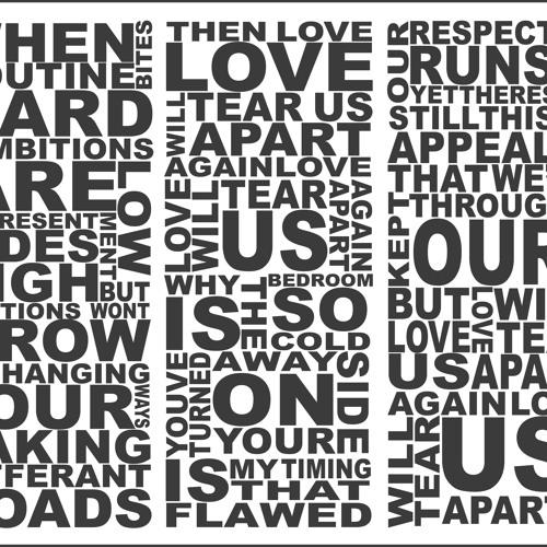 Love Will Tare Us Apart