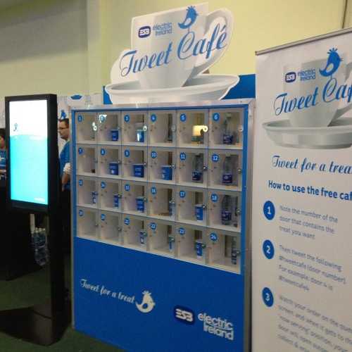 Edel McCarthy of Electric Ireland on the Tweet Cafe
