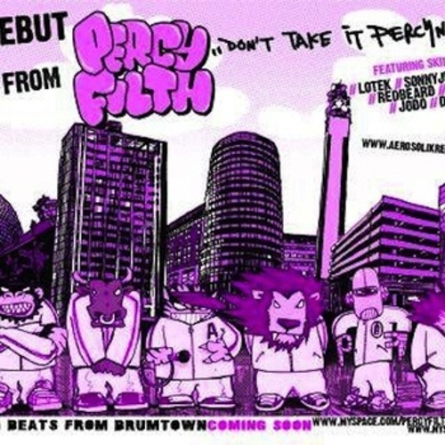 Percy Filth - Sucka Ducks feat Redbeard, Kosyne & Dj Cro