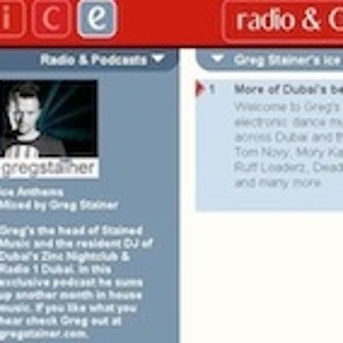 Greg Stainer - Ice Anthems NOVEMBER 2011
