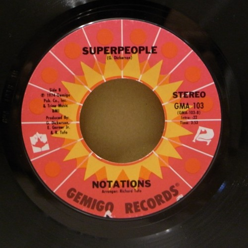 The Notations - Superpeople (2 Many GT's Edit)