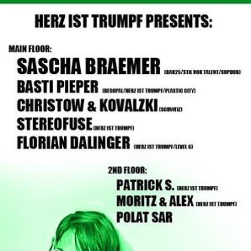 Live-Recording - AfterHour Herz ist Trumpf - Mixed by Christow&Kovalzki