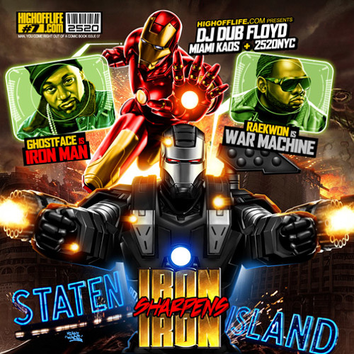 Ghostface Killah & Raekwon - Robot Rock: Stark vs Rhodey (DF sMASH-UP)