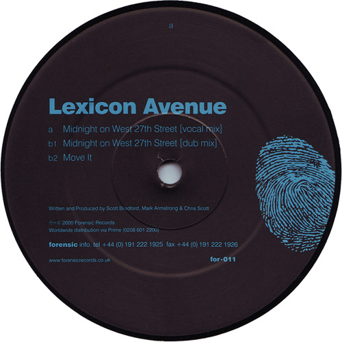 Lexicon Avenue - Midnight On West 27th Street (Vocal Mix)