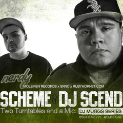 Scheme & DJ Scend - Two Turntables and a Mic: DJ Muggs Series