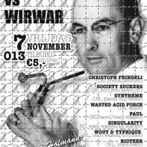 -- toysfornoise live at 013 november 2008  - - - - crackbeats vs wirwar - - - >
