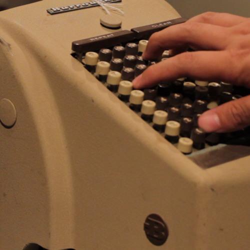 Burroughs Protectograph checkprinter sounds
