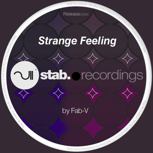 fab-v_strange feeling (Stab Recordings)