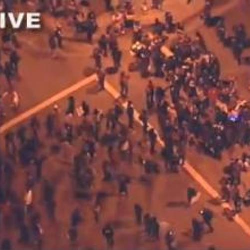 Ritual At Oscar Grant Plaza (originally titled: Occupy Oakland Tear Gassing 11-2-11)