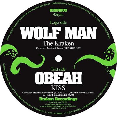 KRKN005 - Wolf Man - The Kraken