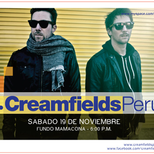 Pan-Pot podcast for Creamfields Peru