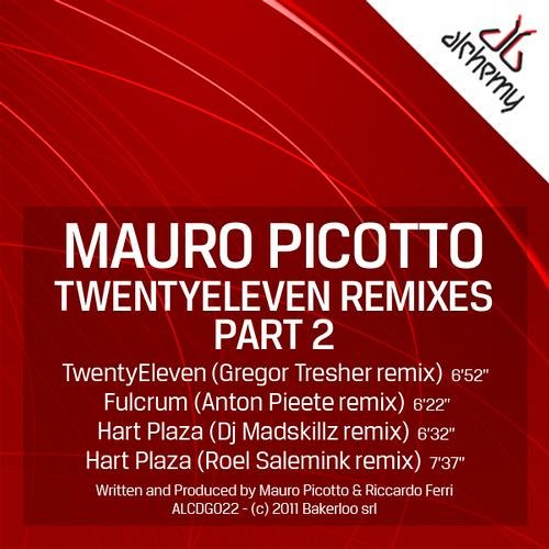 Mauro Picotto - Twenty Eleven (Gregor Tresher Remix) (Alchemy)