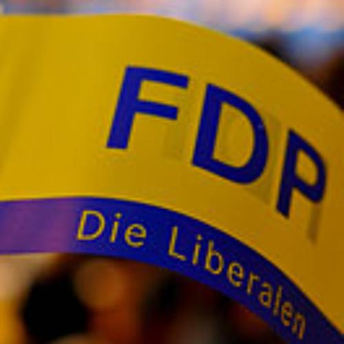 FDP (Gelb-blaue Fahnen wehen im Wind) [extended version]