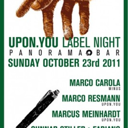 Gunnar Stiller & Fabiano @ Panorama Bar [Upon.You Night_2011-10-23]