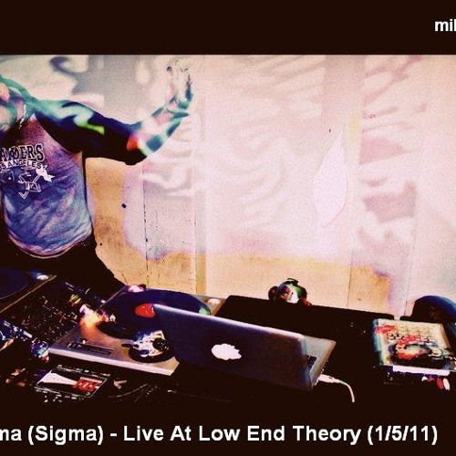 Aenima (Sigma) - Live @ Low End Theory (1/5/2011)