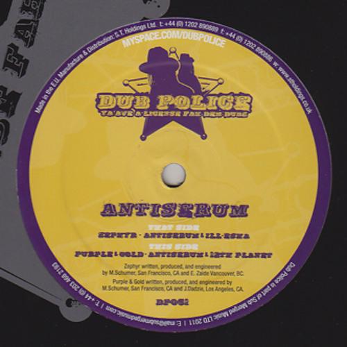 Antiserum & 12th Planet - Purple & Gold (2011)