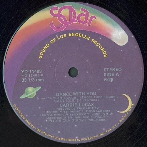 Carrie Lucas ''Dancin' With Carrie'' (Long Version Edit #2) SNC-003-AS