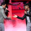 Romeo Santos Ft. Usher - Promise (Live @ Latin Grammy) (By CaliinKrazyAk47)