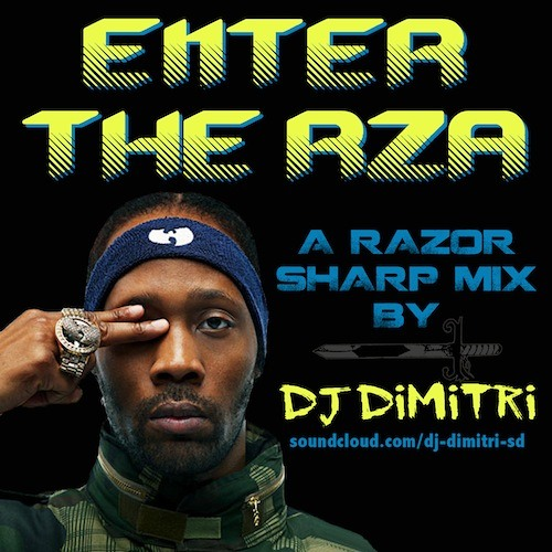 Enter The RZA: A Razor-Sharp Mix by DJ Dimitri