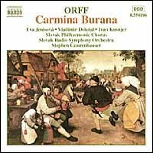 05 Carmina Burana, scenic cantata for soloists, choruses & orchestra- Primo Vere, No 5-  Ecce Gratum