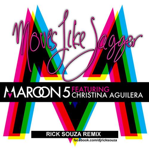 Maroon 5 & Cristina Aguilera - Moves Like Jagger (Rick Souza Remix)