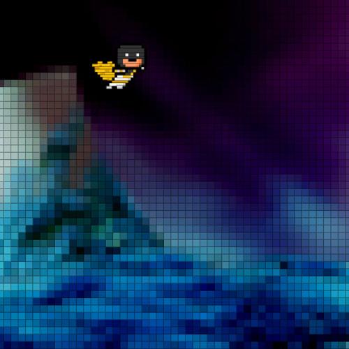 Pixel Hero enters the Haunted Lunar Caverns