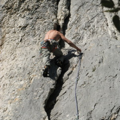 And the essence of free climbing is...(Heavy fus. rock)