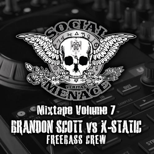 Brandon Scott vs X-Static - Social Menace Mixtape Volume 7