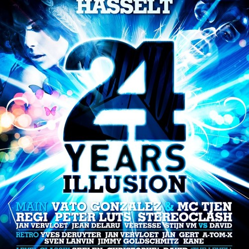 24 Years Illusion (Retro Hall) mixed by DJ Jan