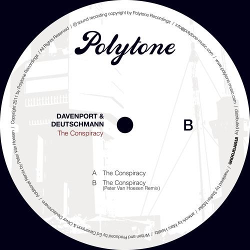 Davenport & Deutschmann - The Conspiracy (Peter Van Hoesen Remix) (Preview)