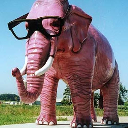 Rabbit-p pink elephant power