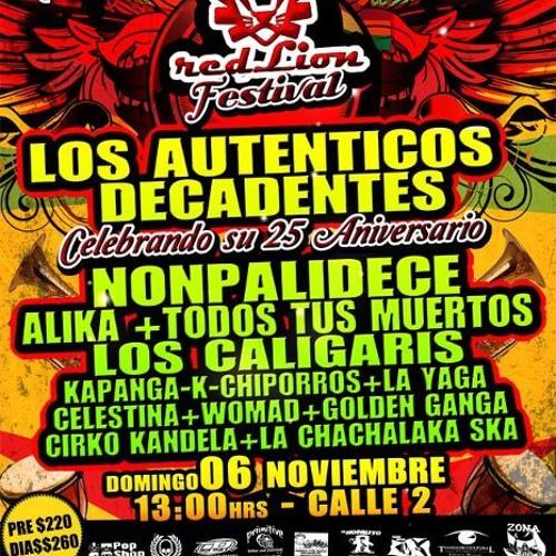 02 - Tus Besos - Los Caligaris En Guadalajara Red Lion Fest By Difusion Alternativa