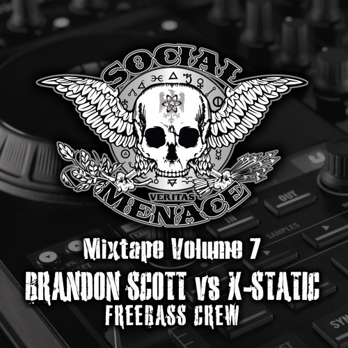 Brandon Scott vs X-Static - Social Menace Mixtape Vol.7