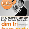 Dimitri From Paris Live @ Brixton Clubhouse, London, for Slide UK 12-11-11