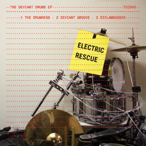 THE DRUMNESS - electric rescue - SCI+TEC 45