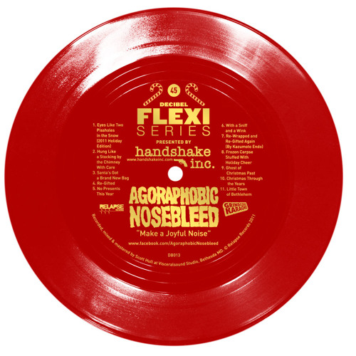 "Agoraphobic Nosebleed ""Make a Joyful Noise"" (dB013)"
