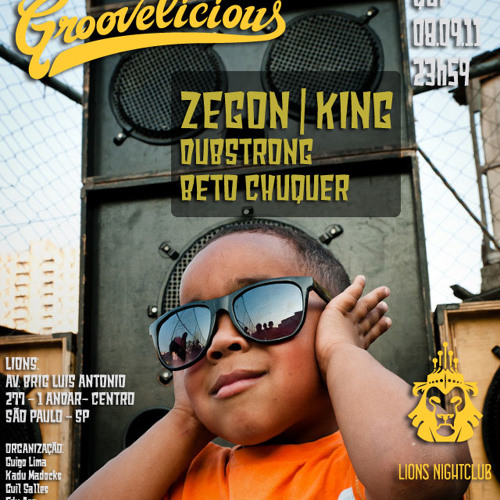 DJ ZEGON SET MASTER - LIVE@GROOVALICIOUS - LIONS CLUB - SAO PAULO - BRAZIL / SOMZÊRA Records