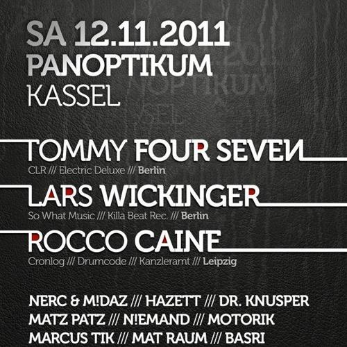 Hazett at Kassels heimliche Helden der Nacht (Panoptikum - 2011-11-12)