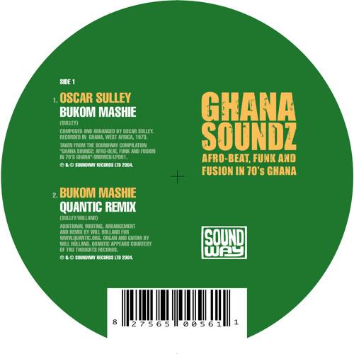 "Bukom Mashie / Disco Africa 12"" medley"