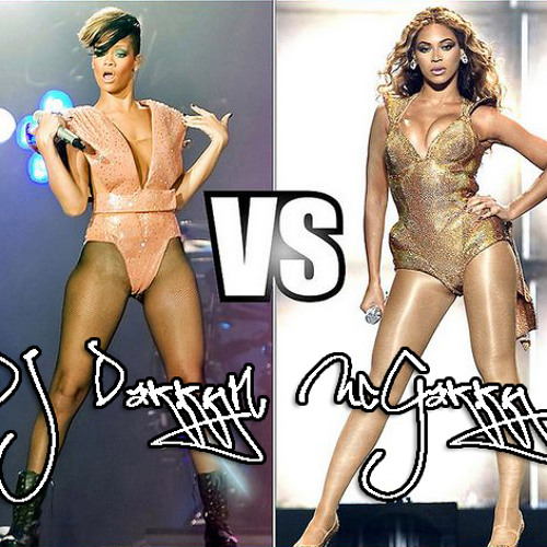 Rihanna vs Beyonce - Mix for The Ladies   (For free download visit www.facebook.com/djdarrynmcgarry)