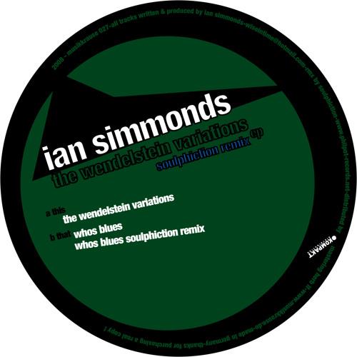 MK 027 - Ian Simmonds - The Wendelstein Variations EP