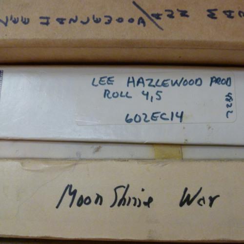 Lee Hazlewood - I Just Learned To Run (Unreleased Studio Outtake)